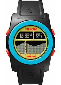 Nixon Часы Nixon A385-1935. Коллекция Rhythm часы nixon time teller deluxe leather navy sunray brow