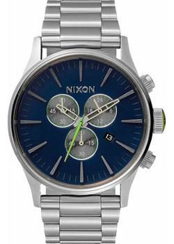 Nixon Часы Nixon A386-1981. Коллекция Sentry худи print bar дата выпуска 1981
