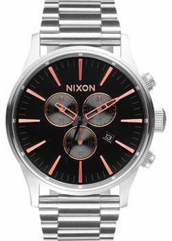 Nixon Часы Nixon A386-2064. Коллекция Sentry часы nixon time teller deluxe leather navy sunray brow