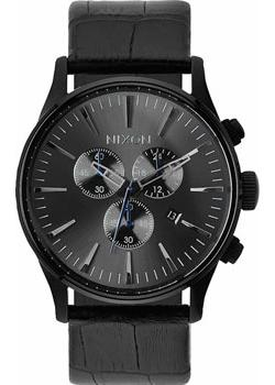 Nixon Часы Nixon A405-1886. Коллекция Sentry часы nixon corporal ss matte black industrial green