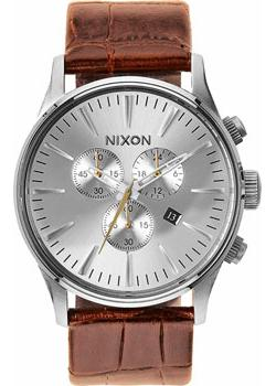 Nixon Часы Nixon A405-1888. Коллекция Sentry часы nixon time teller deluxe leather navy sunray brow