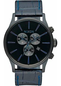 Nixon Часы Nixon A405-2153. Коллекция Sentry часы nixon ranger 45 leather black red