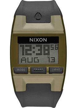 Nixon Часы Nixon A408-1089. Коллекция Comp часы nixon time teller deluxe leather navy sunray brow