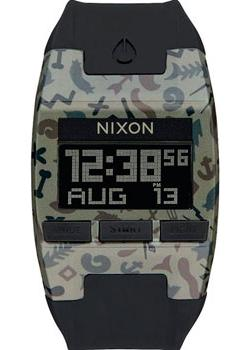 Nixon Часы Nixon A408-1716. Коллекция Comp часы nixon time teller deluxe leather navy sunray brow