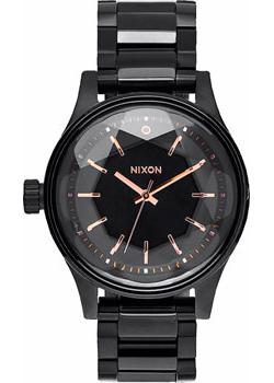 Nixon Часы Nixon A409-957. Коллекция Facet часы nixon time teller deluxe leather navy sunray brow