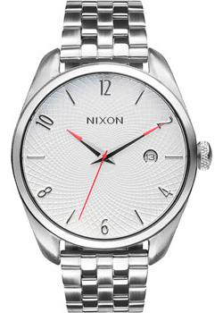 Nixon Часы Nixon A418-100. Коллекция Bullet часы nixon genesis leather white saddle