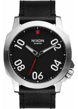 Nixon Часы Nixon A466-008. Коллекция Ranger часы nixon ranger 45 leather black red