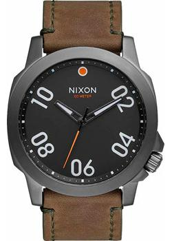 Nixon Часы Nixon A466-2072. Коллекция Ranger часы nixon time teller deluxe leather navy sunray brow