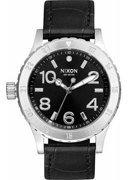 Nixon Часы Nixon A467-1886. Коллекция 38-20 часы nixon ranger 45 leather black red