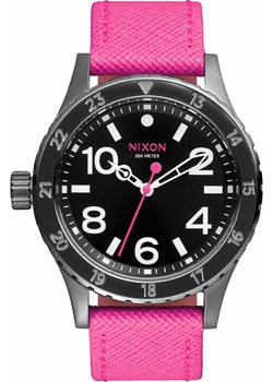 Nixon Часы Nixon A467-2049. Коллекция 38-20 часы nixon ranger 45 leather black red