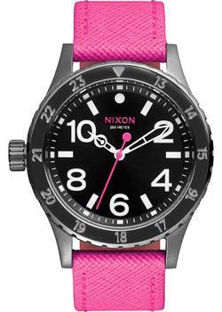 Nixon Часы Nixon A467-2049. Коллекция 38-20 часы nixon 38 20 leather black hot pink