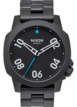 Nixon Часы Nixon A468-001. Коллекция Ranger часы nixon time teller deluxe leather navy sunray brow