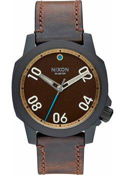 Nixon Часы Nixon A471-2209. Коллекция Ranger часы nixon ranger 45 leather black red