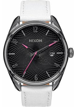 Nixon Часы Nixon A473-486. Коллекция Bullet часы nixon time teller deluxe leather navy sunray brow