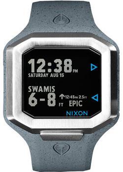 Nixon Часы Nixon A476-2101. Коллекция Ultratide часы nixon genesis leather white saddle