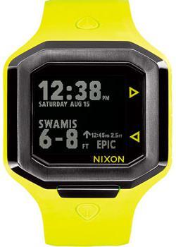 Nixon Часы Nixon A476-2111. Коллекция Ultratide часы nixon porter nylon gold white red
