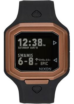Nixon Часы Nixon A476-872. Коллекция Ultratide часы nixon corporal ss matte black industrial green
