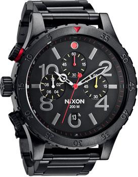 Nixon Часы Nixon A486-1320. Коллекция 48-20 ремень nixon nixon ni001dmwjw51