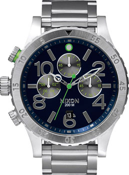 Nixon Часы Nixon A486-1981. Коллекция 48-20 Chrono nixon часы nixon a410 2317 коллекция 38 20