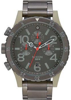 Nixon Часы Nixon A486-2220. Коллекция 48-20 Chrono часы nixon corporal ss all black