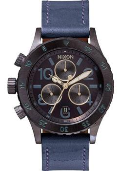 Nixon Часы Nixon A504-1930. Коллекция 38-20 Chrono часы nixon time teller deluxe leather navy sunray brow
