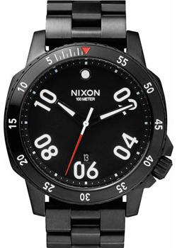 Nixon Часы Nixon A506-001. Коллекция Ranger часы nixon ranger 45 leather black red