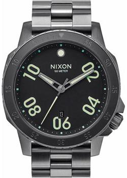 Nixon Часы Nixon A506-1418. Коллекция Ranger часы nixon time teller deluxe leather navy sunray brow