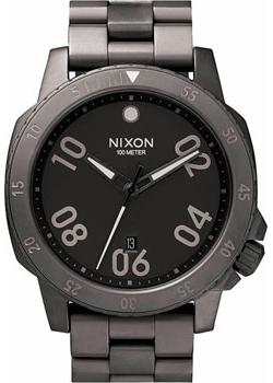 Nixon Часы Nixon A506-632. Коллекция Ranger часы nixon ranger 45 leather black red