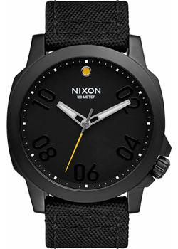 Nixon Часы Nixon A514-001. Коллекция Ranger часы nixon porter nylon gold white red
