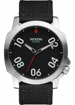 Nixon Часы Nixon A514-008. Коллекция Ranger часы nixon ranger 45 leather black red