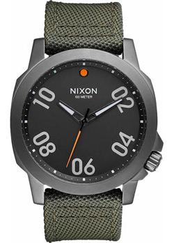 Фото Nixon Часы Nixon A514-2072. Коллекция Ranger часы nixon porter nylon gold white red