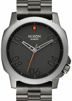 Nixon Часы Nixon A521-1531. Коллекция Ranger часы nixon ranger 45 leather black red