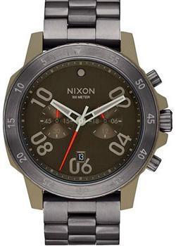 Фото Nixon Часы Nixon A549-2220. Коллекция Ranger часы nixon porter nylon gold white red