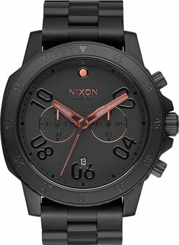 Nixon Часы Nixon A549-957. Коллекция Ranger часы nixon time teller deluxe leather navy sunray brow