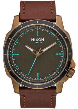 Nixon Часы Nixon A914-2373. Коллекция Ranger часы nixon ranger 45 leather black red