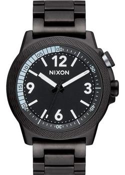 Nixon Часы Nixon A917-001. Коллекция Cardiff Sport часы nixon time teller deluxe leather navy sunray brow