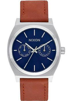Nixon Часы Nixon A927-2307. Коллекция Time Teller часы nixon genesis leather white saddle