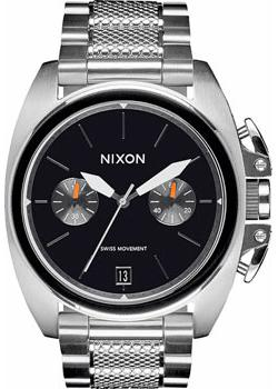 Nixon Часы Nixon A930-000. Коллекция Anthem часы nixon time teller deluxe leather navy sunray brow