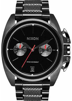 Nixon Часы Nixon A930-001. Коллекция Anthem часы nixon corporal ss matte black industrial green