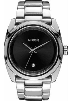 Nixon Часы Nixon A935-000. Коллекция Queenpin часы nixon time teller deluxe leather navy sunray brow