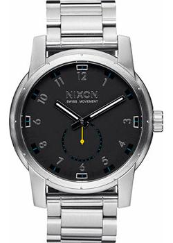 Nixon Часы Nixon A937-000. Коллекция Patriot часы nixon ranger 45 leather black red