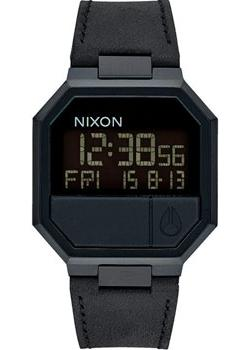 Nixon Часы Nixon A944-001. Коллекция Re-Run часы nixon re run leather all black
