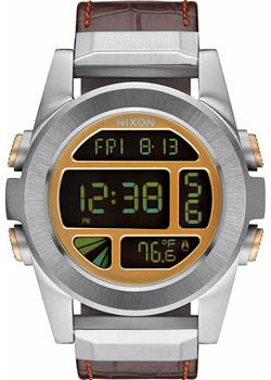Nixon Часы Nixon A946-1887. Коллекция Unit часы nixon time teller deluxe leather navy sunray brow