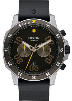 Nixon Часы Nixon A958-000. Коллекция Ranger часы nixon time teller deluxe leather navy sunray brow