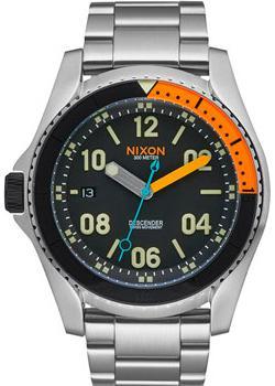 Nixon Часы Nixon A959-2336. Коллекция Descender часы nixon corporal ss matte black industrial green