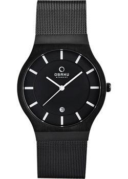 Obaku Часы Obaku V123GDBBMB. Коллекция Mesh все цены