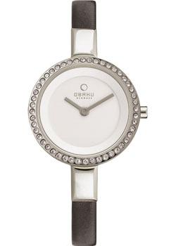 Obaku Часы Obaku V129LECIRB. Коллекция Leather obaku v143gxgwrb