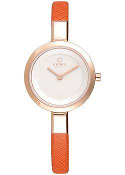 купить Obaku Часы Obaku V129LXVIRO. Коллекция Leather по цене 4890 рублей