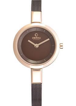 Obaku Часы Obaku V129LXVNMN. Коллекция Mesh все цены