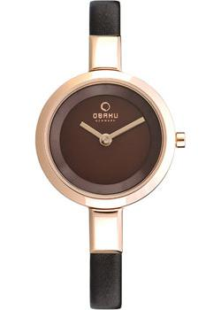 Obaku Часы Obaku V129LXVNRN. Коллекция Leather obaku часы obaku v153gdgwrb коллекция leather